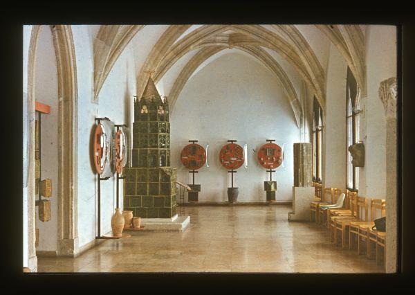 Skoflek István diaképei - A vár egyik terme - Kuny Domokos Múzeum, CC BY