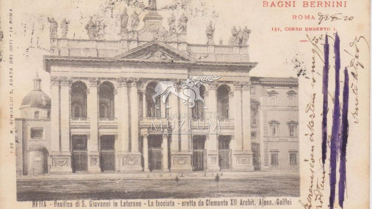 Lateránban született a Vatikán