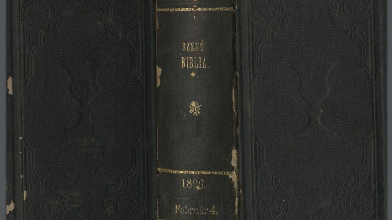 Csempészeknél volt az 1200 éves Biblia
