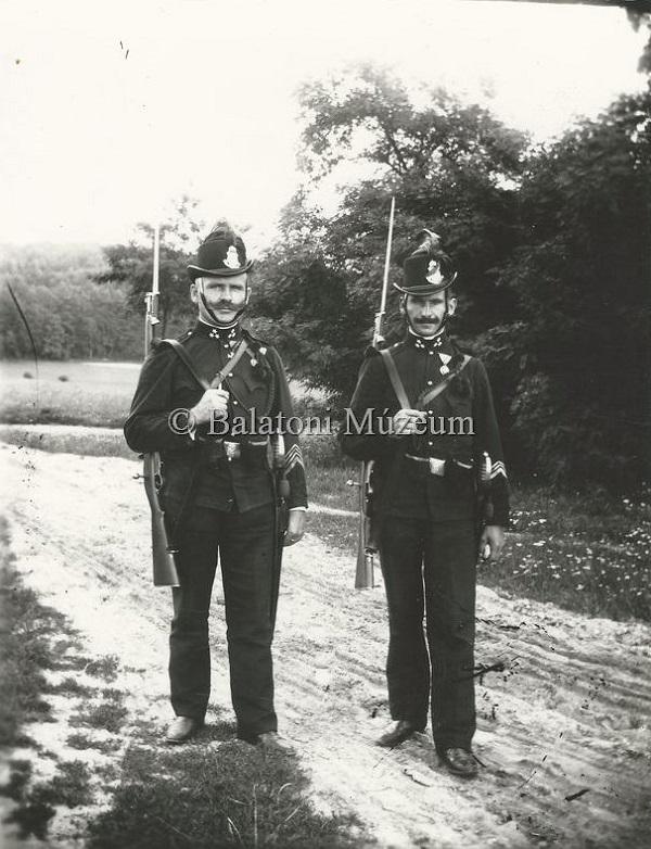 Csendőrök Keszthelyen (1909) - Balatoni Múzeum, CC BY-NC-ND
