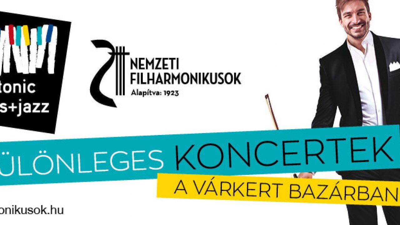 Szakcsi Lakatos és a Nemzeti Filharmonikusok a Várkert Bazárban
