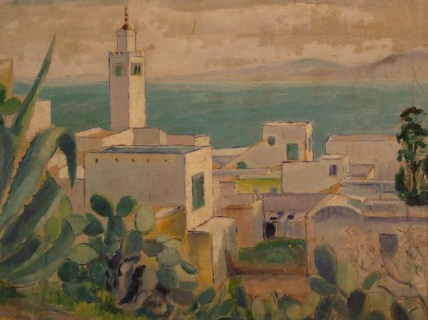 Tunisz látképe - Rippl-Rónai Megyei Hatókörű Városi Múzeum, CC BY