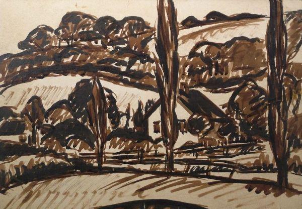 Bárdibükki táj - Rippl-Rónai Megyei Hatókörű Városi Múzeum, CC BY