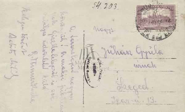 Juhász Gyula levelezése - Móra Ferenc Múzeum, CC BY-NC-ND