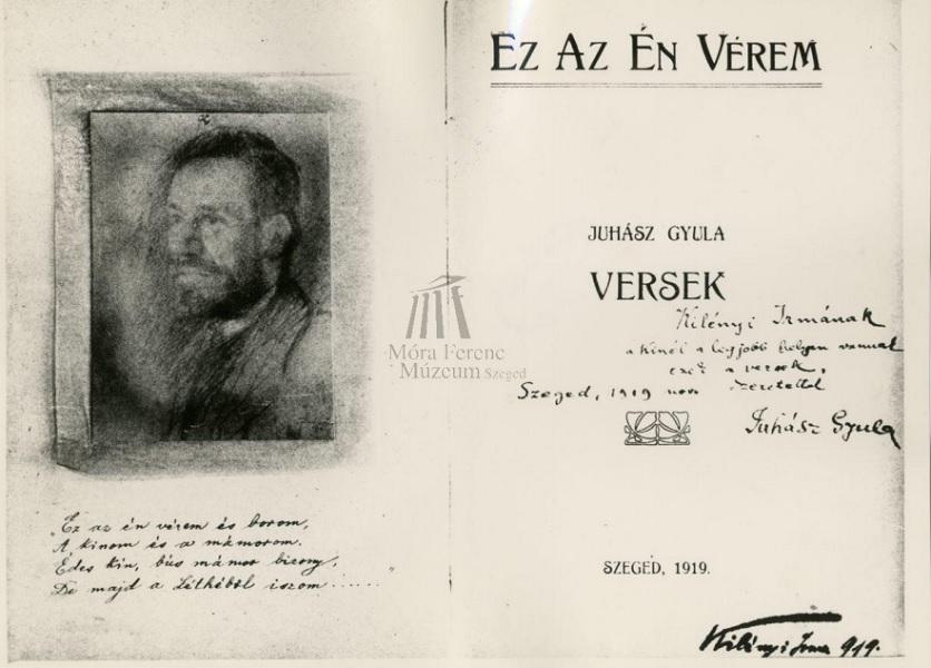 Juhász Gyula kéziratok, versek, prózai művek - Móra Ferenc Múzeum, CC BY-NC-ND