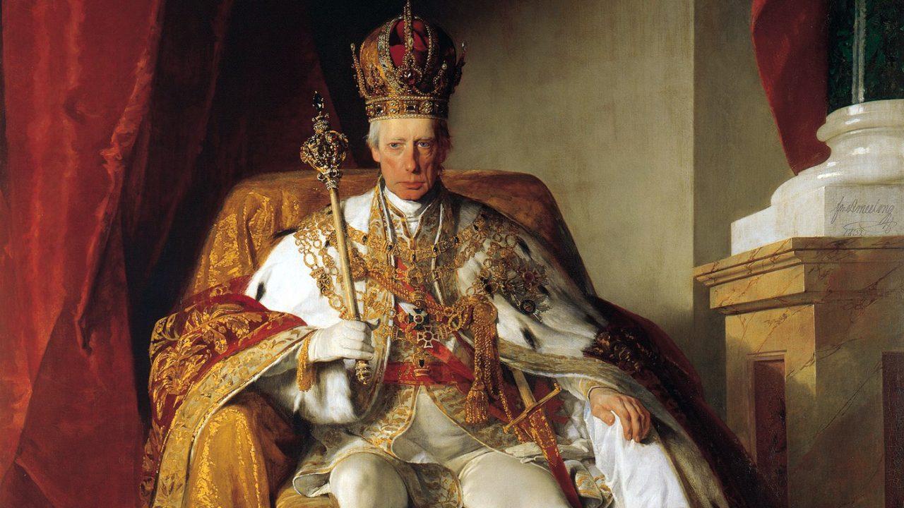 Király gyengeelméjű örökössel