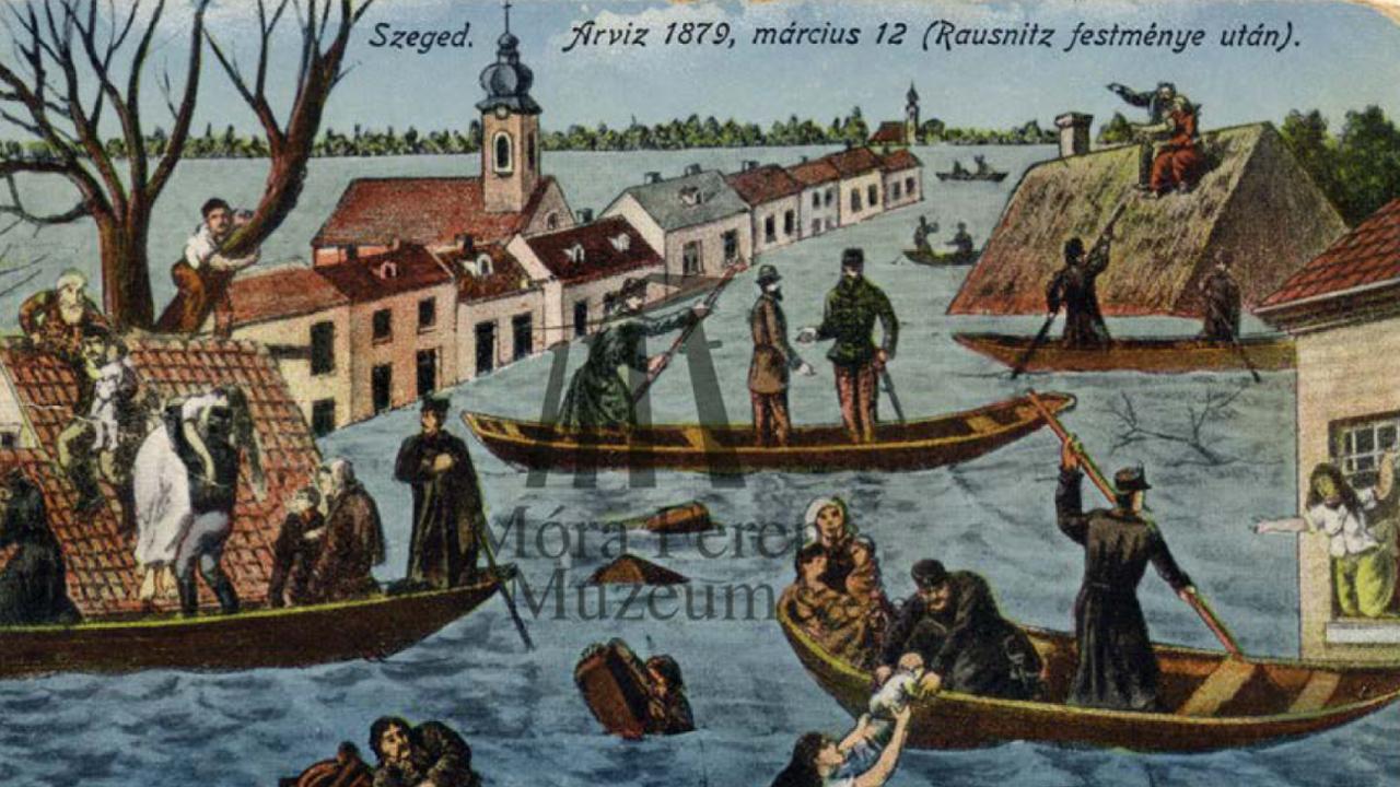 A nagyárvíz festményeken