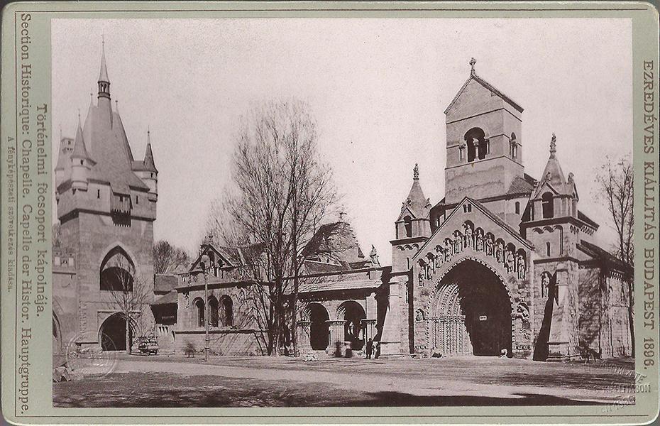 Az ezredéves kiállítás épületei 1896-ban - Magyar Kereskedelmi és Vendéglátóipari Múzeum, CC BY-NC-ND