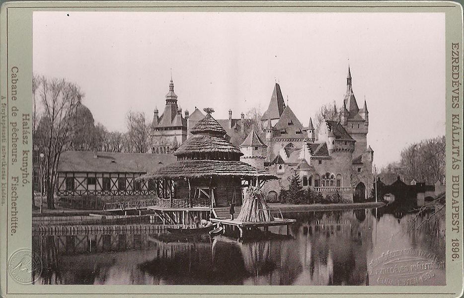 Az ezredéves kiállítás épületei 1896 - Magyar Kereskedelmi és Vendéglátóipari Múzeum, CC BY-NC-ND mcitem