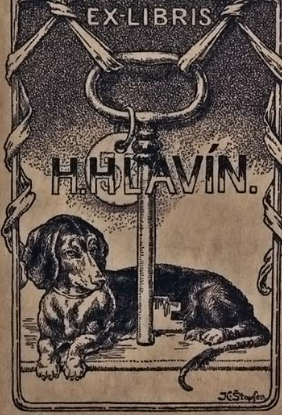 H. Hlavín könyvjegye - Balatoni Múzeum, CC BY-NC-ND