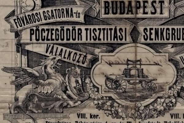 Hause pöcegödörtisztítási vállalkozó - Budapesti Történeti Múzeum, CC BY-NC-ND