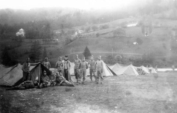 Katonai sátortábor - Thorma János Múzeum, CC BY-NC-ND