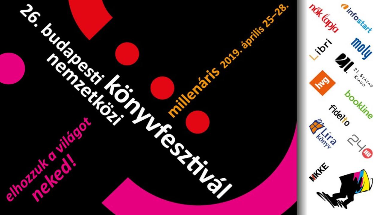 Itt a 26.  Budapesti Nemzetközi Könyvfesztivál