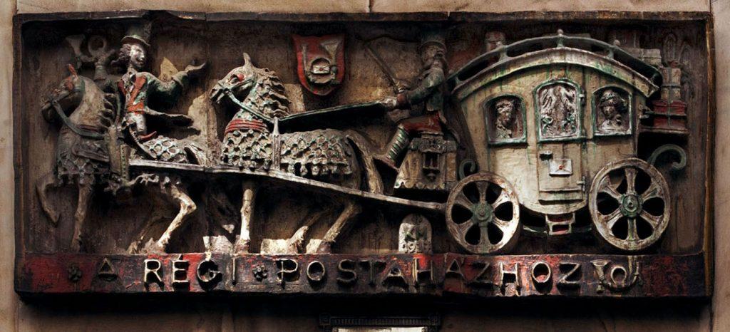 A középkor hangulatát idéző dombormű - Magyar Nemzeti Digitális Archívum és Filmintézet, CC BY-NC-ND