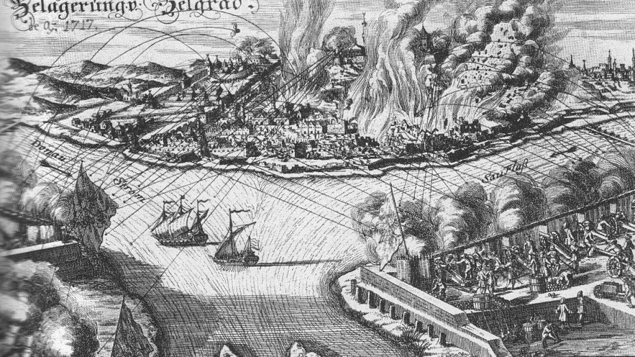 A kalapos király tengeri flottája