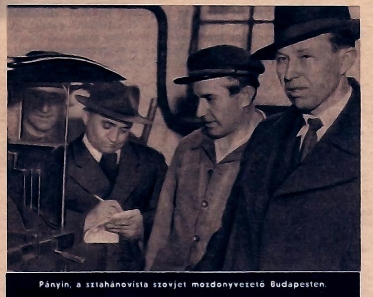 Pátyin, a szovjet sztahanovista mozdonyvezető. - Damjanich János Múzeum, CC BY-NC-ND