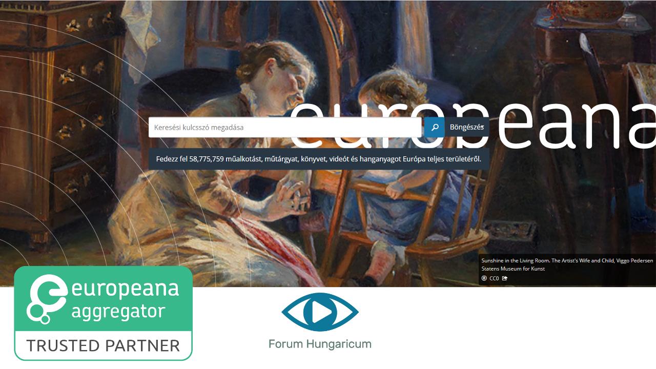 Aggregátorok akkreditációja az Europeana szolgáltatáshoz