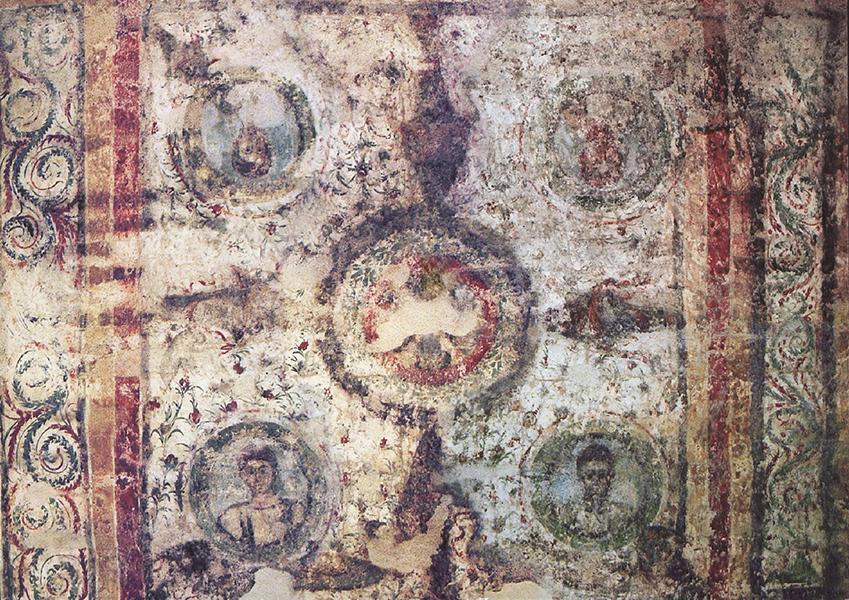 Ókeresztény festmények - Csorba Győző Könyvtár - Pécs, CC BY-NC