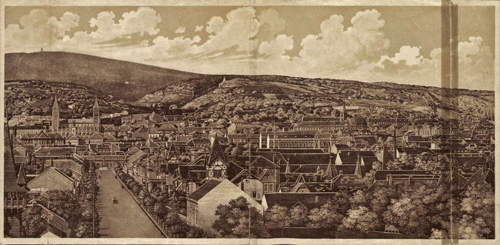 Pécsi látkép - Csorba Győző Könyvtár - Pécs, CC BY-NC