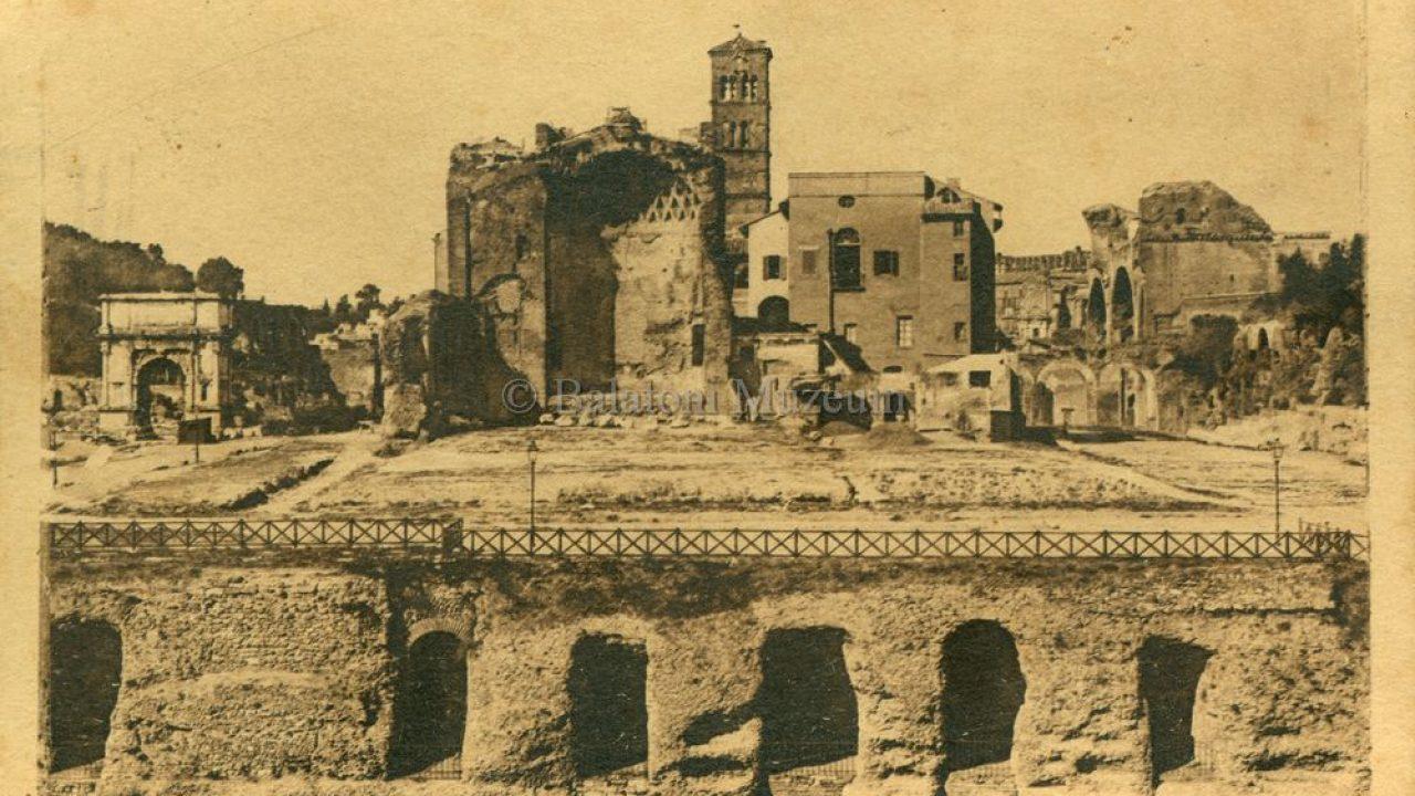 """Művészi """"képeslapok"""" Rómáról"""