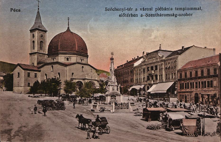 Széchenyi tér - Tóth Tibor Endre, PDM