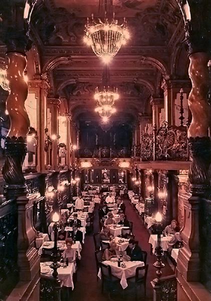 A New York kávéház étterme - Magyar Kereskedelmi és Vendéglátóipari Múzeum, CC BY-NC-ND