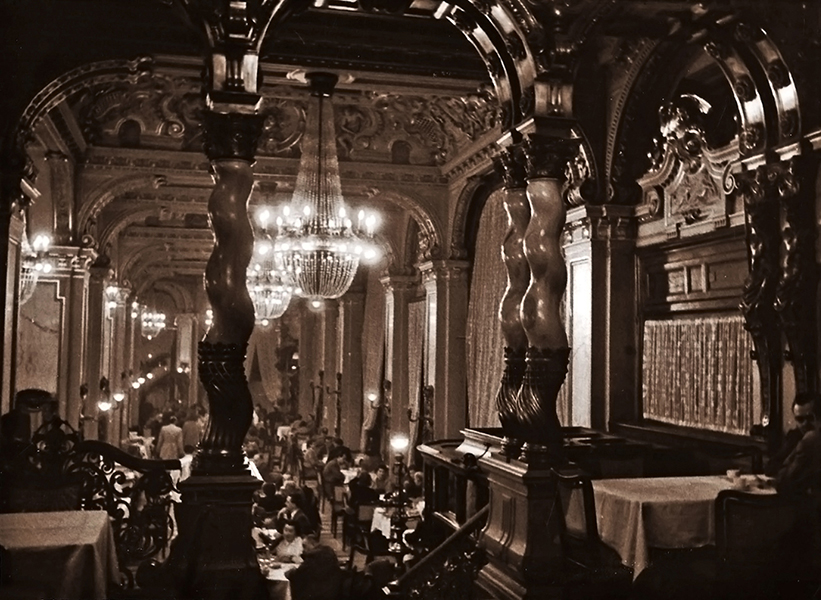 A New York hotel étterme, 1960-ban - Magyar Kereskedelmi és Vendéglátóipari Múzeum, CC BY-NC-ND