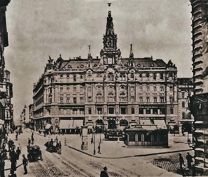 A budapesti New York Palota a századelőn - Magyar Kereskedelmi és Vendéglátóipari Múzeum, CC BY-NC-ND