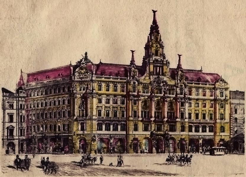 A New York Palota és étterem Budapesten - Magyar Kereskedelmi és Vendéglátóipari Múzeum, CC BY-NC-ND