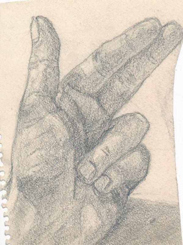 Kézfej - Thorma János Múzeum, CC BY-NC-ND