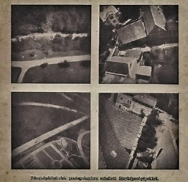 Postagalambra erősített fényképezőgéppel készült fényképek - Damjanich János Múzeum, CC BY-NC-ND