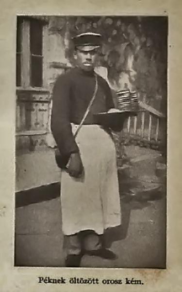 Péknek öltözött orosz kém - Damjanich János Múzeum, CC BY-NC-ND