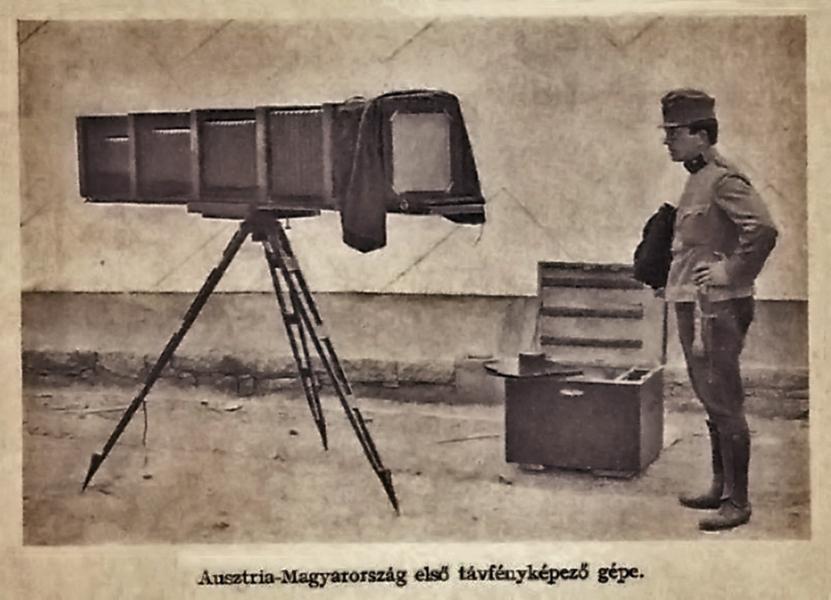 Az első Osztrák-magyar távfényképezőgép - Damjanich János Múzeum, CC BY-NC-ND
