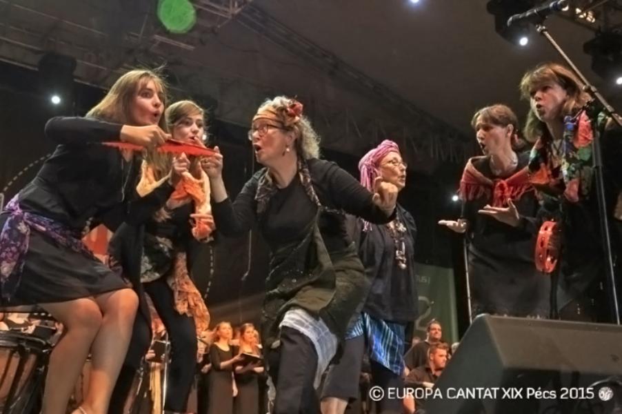 Europa Cantat XIX. 6. nap - EUROPA CANTAT Pécs 2015 Nonprofit Kft., CC BY-NC