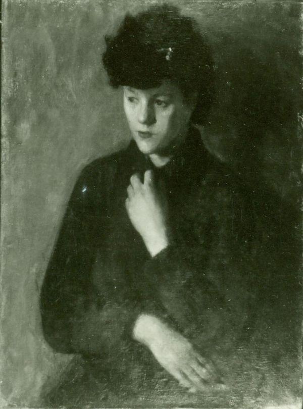 Berki Viola: Nő portréja - Thorma János Múzeum, CC BY-NC-ND