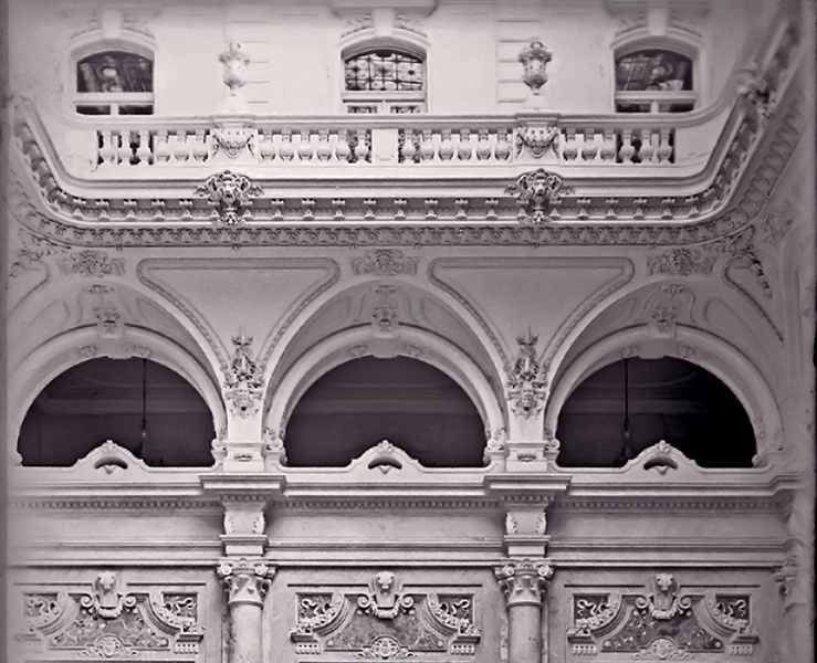 A Budavári Palota főlépcsőháza - Kuny Domokos Múzeum, CC BY