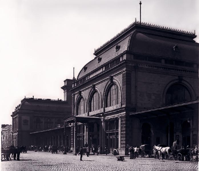 A Keleti pályaudvar épülete - Kuny Domokos Múzeum, CC BY