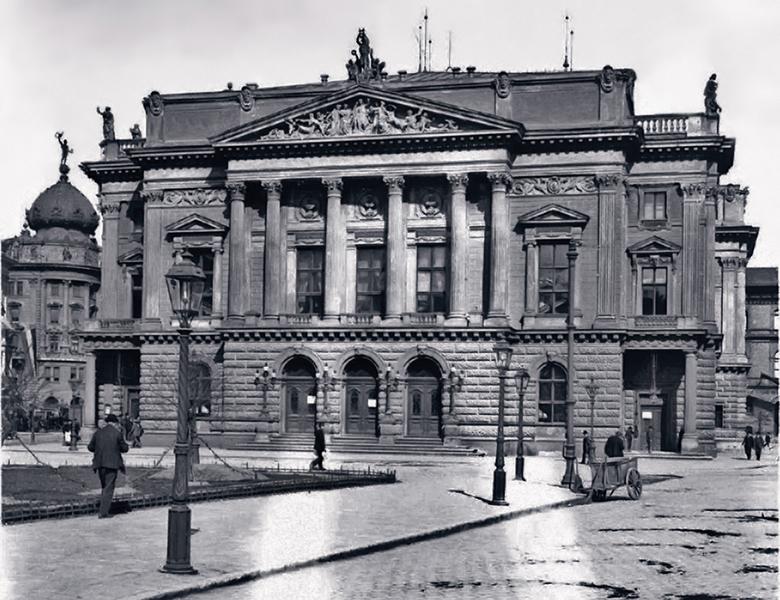 A Népszínház társulat épülete - Kuny Domokos Múzeum, CC BY