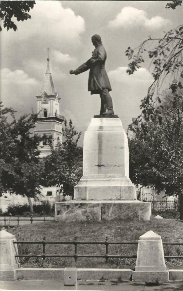 Törökszentmiklós - Kossuth Lajos szobra - Képzőművészeti Alap Kiadóvállalata, CC BY-NC-ND