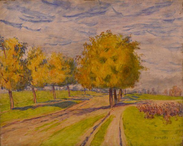 Lellei út ősszel - Rippl Rónai Megyei Hatókörű Városi Múzeum, CC BY