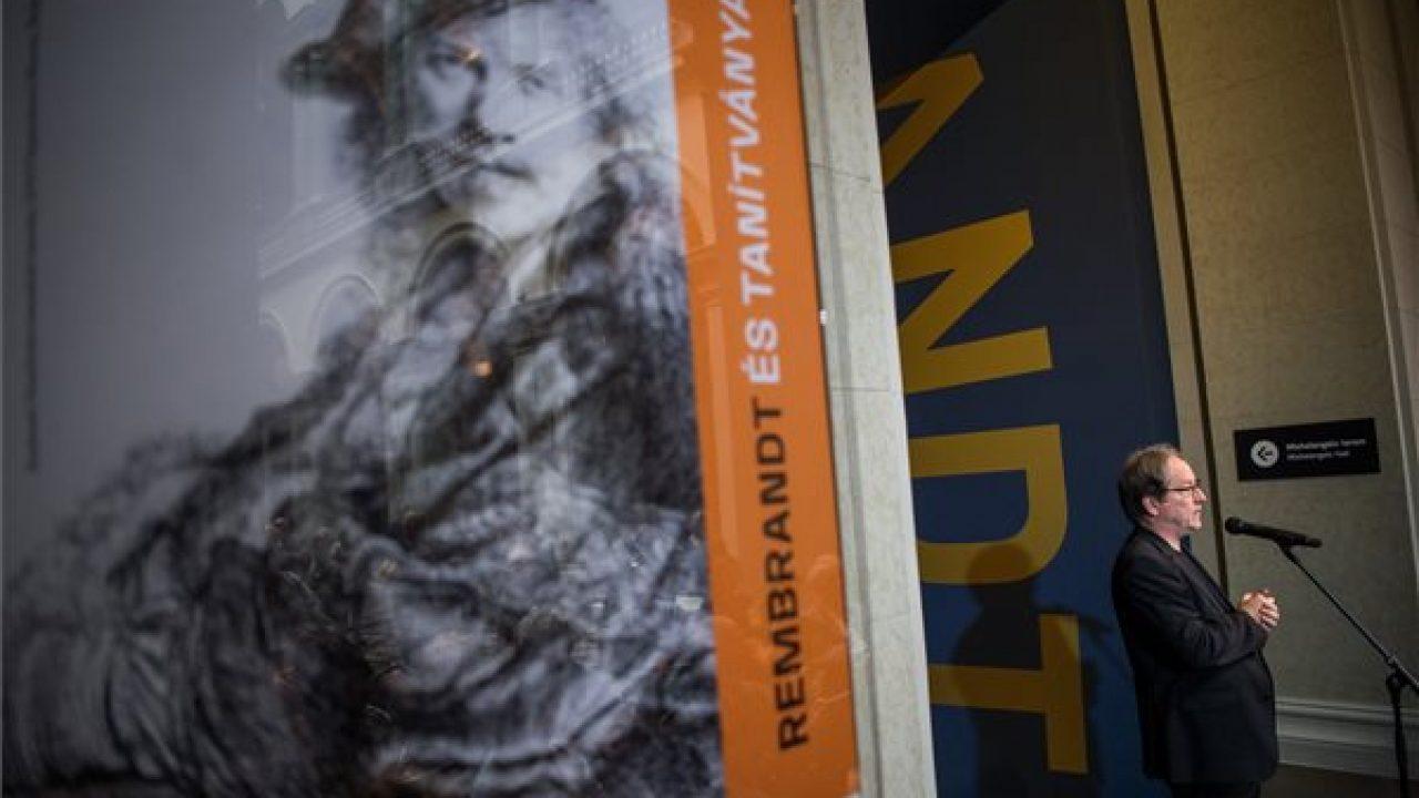 Rembrandt és tanítványai a Hősök terén