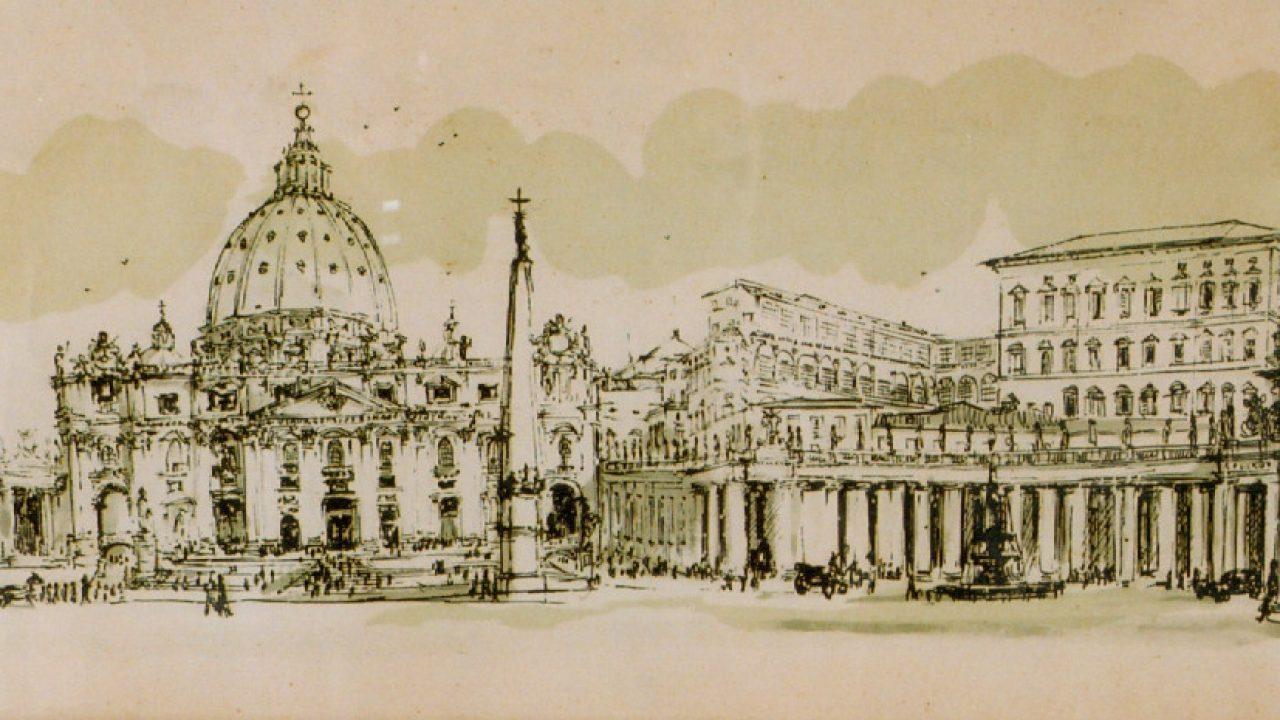 Kucsera-emlékmise a Szent Péter-bazilika magyar kápolnájában