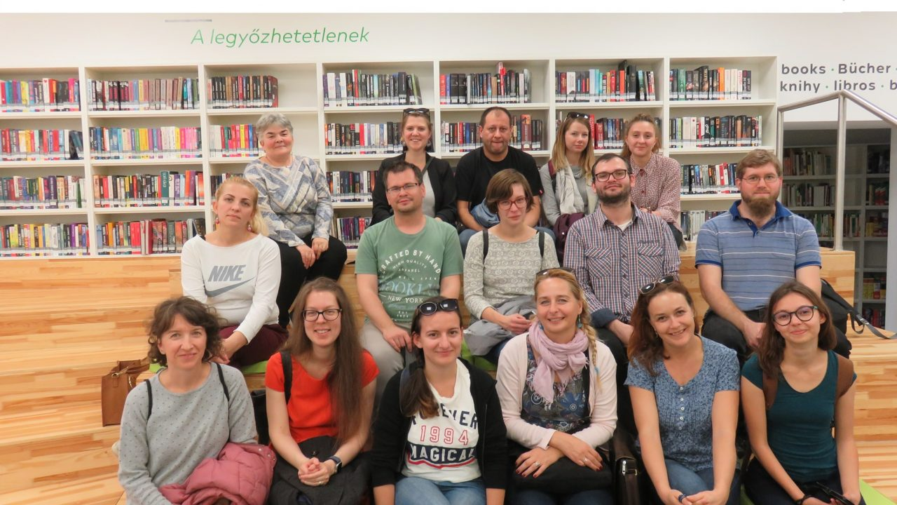 Tudósítás a Könyvtár, ami összeköt c. programról II.