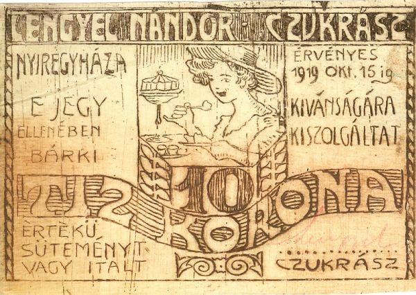 Nyíregyházi szükségpénz - Magyar Nemzeti Múzeum, CC BY-NC-ND