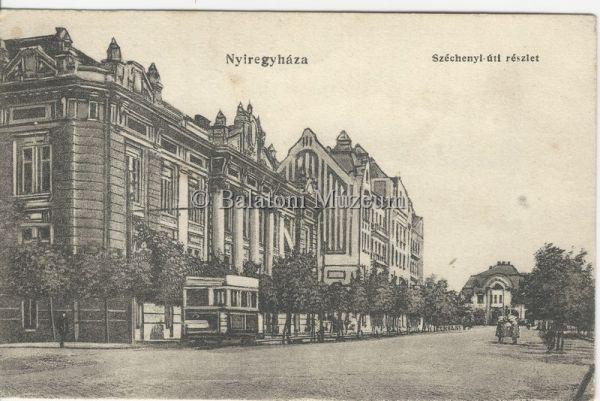 Nyíregyháza. Széchenyi úti részlet - Balatoni Múzeum, CC BY-NC-ND
