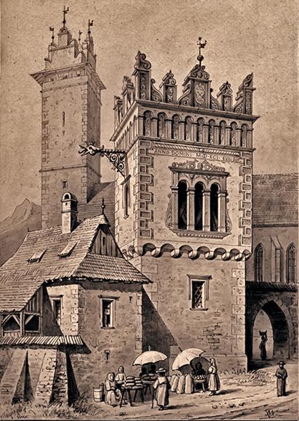 A késmárki reneszánsz várkastély látványterve - Kuny Domokos Múzeum, CC BY