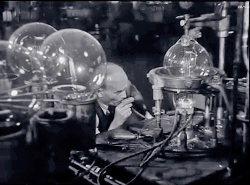 Filmhiradó részlet: Látogatás az Egyesült izzóban - XX. századunk 18. rész - Magyar Nemzeti Filmarchívum - CC BY-NC-SA