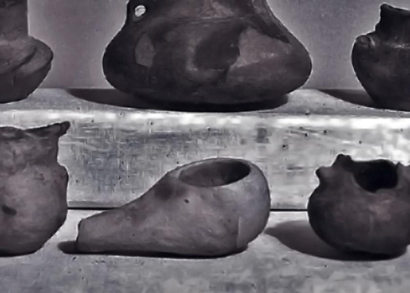Bronzkori edények és neolit mécses - Tornyai János Múzeum, CC BY-NC-ND