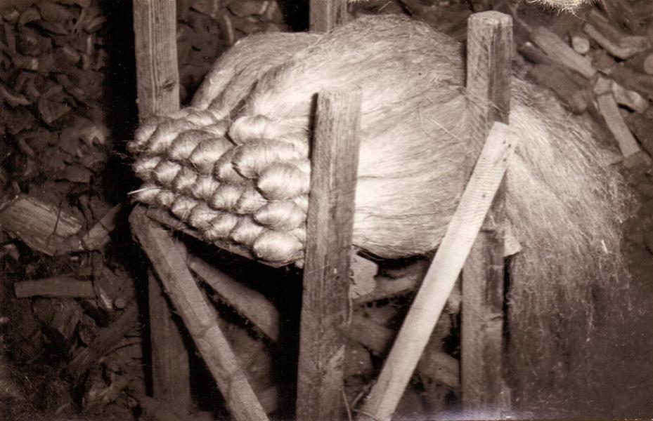 Kifésült kender, börtli - Thorma János Múzeum, CC BY-NC-ND