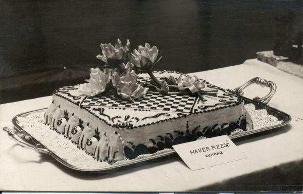 Cukrászati bemutató és kiállítás a Royal szállóban, Budapest, 1931 - MKVM, CC BY-NC-ND